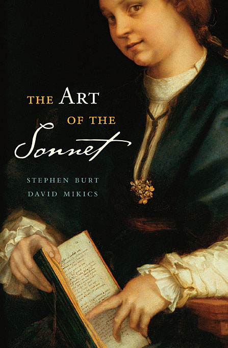 Cover: The Art of the Sonnet: , from Harvard University Press