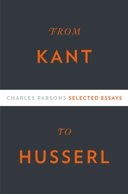 Cover: From Kant to Husserl: Selected Essays, from Harvard University Press