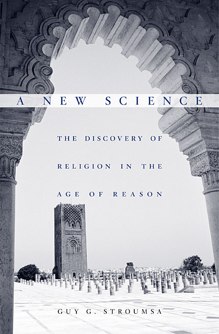 Cover: A New Science: The Discovery of Religion in the Age of Reason, from Harvard University Press