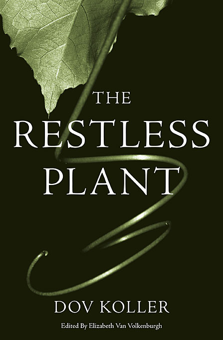Cover: The Restless Plant, from Harvard University Press