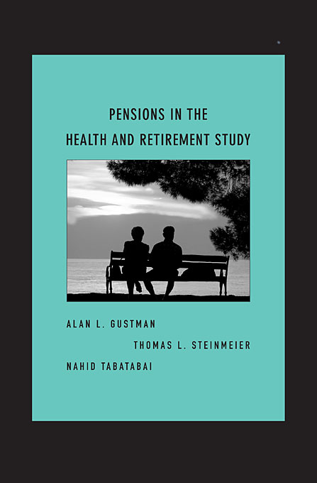 Cover: Pensions in the Health and Retirement Study, from Harvard University Press