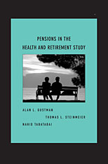 Cover: Pensions in the Health and Retirement Study in HARDCOVER