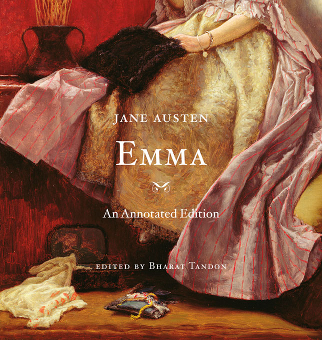 Cover: Emma: An Annotated Edition, from Harvard University Press