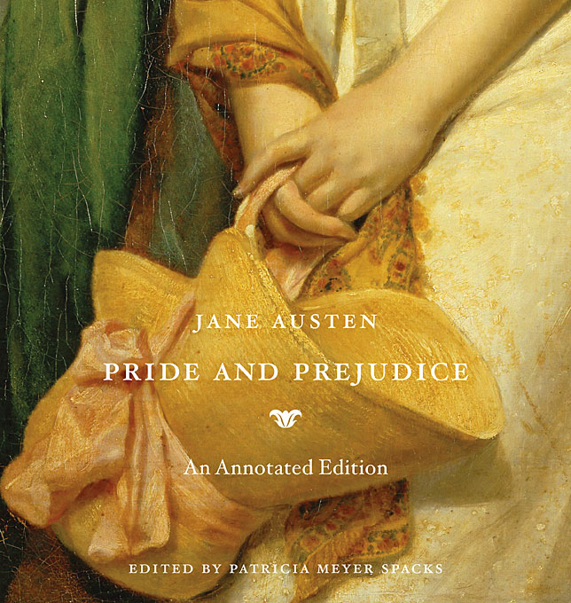 Cover: Pride and Prejudice: An Annotated Edition, from Harvard University Press