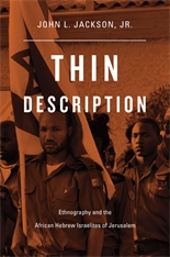 Cover: Thin Description: Ethnography and the African Hebrew Israelites of Jerusalem