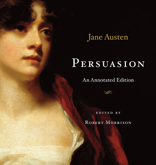 Cover: Persuasion: An Annotated Edition, from Harvard University Press