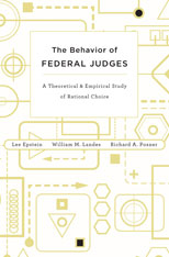 Cover: The Behavior of Federal Judges: A Theoretical and Empirical Study of Rational Choice