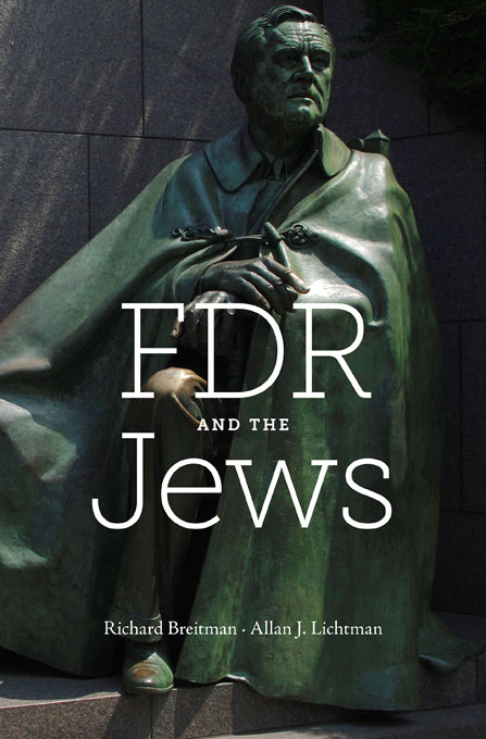 Cover: FDR and the Jews, from Harvard University Press