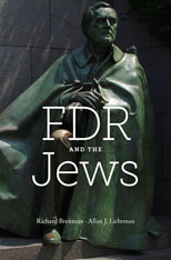 Cover: FDR and the Jews in HARDCOVER