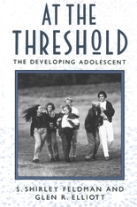 Cover: At the Threshold: The Developing Adolescent