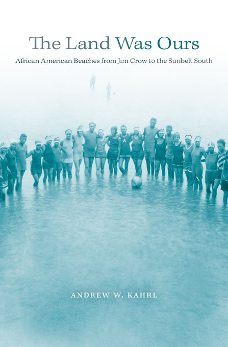 Cover: The Land Was Ours: African American Beaches from Jim Crow to the Sunbelt South, from Harvard University Press
