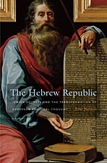 Cover: The Hebrew Republic in HARDCOVER