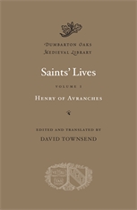 Cover: Saints' Lives, Volume I in HARDCOVER