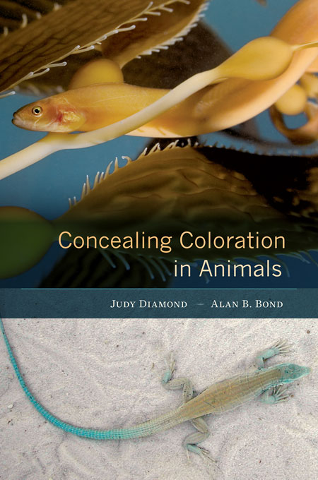 Cover: Concealing Coloration in Animals, from Harvard University Press