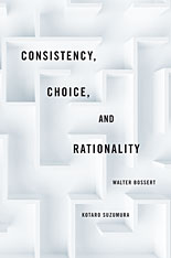 Cover: Consistency, Choice, and Rationality