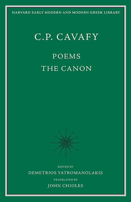 Cover: Poems: The Canon, from Harvard University Press