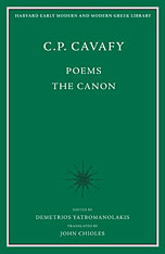 Cover: C. P. Cavafy: Poems-The Canon