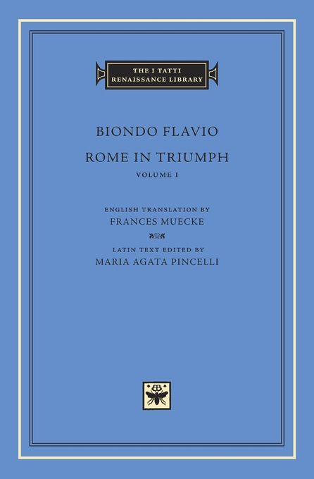 Cover: Rome in Triumph, Volume 1: Books I–II, from Harvard University Press