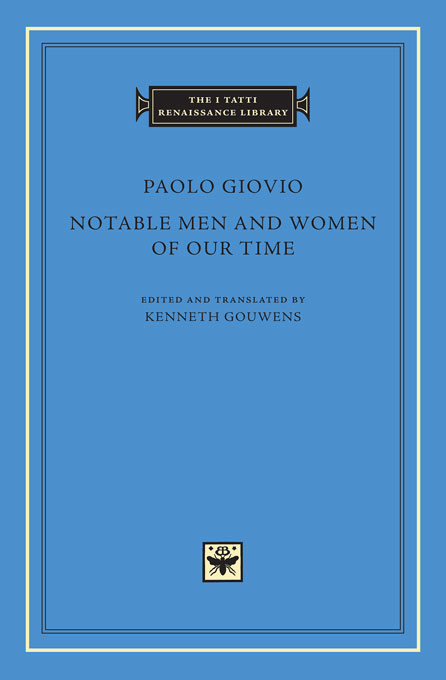 Cover: Notable Men and Women of Our Time, from Harvard University Press
