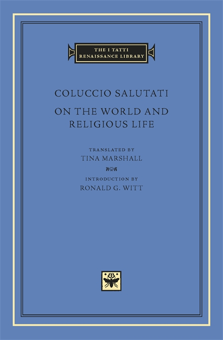 Cover: On the World and Religious Life, from Harvard University Press