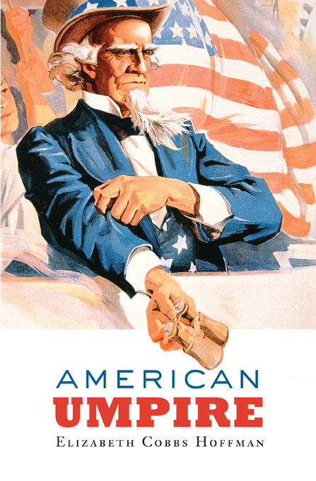 Cover: American Umpire, from Harvard University Press