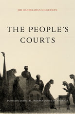 Cover: The People's Courts in HARDCOVER