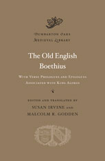 Cover: The Old English Boethius: with Verse Prologues and Epilogues Associated with King Alfred