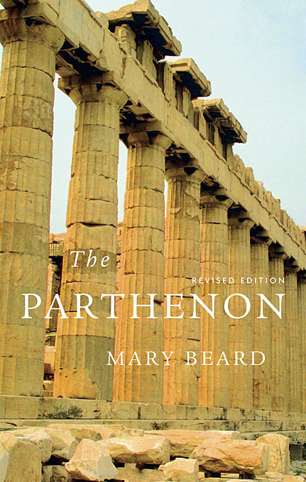 Cover: The Parthenon, Revised Edition, from Harvard University Press