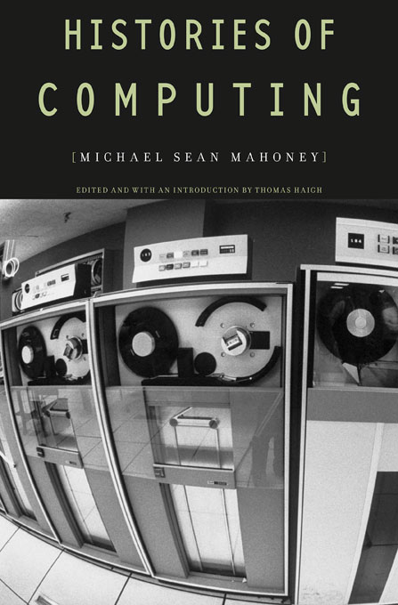 Cover: Histories of Computing, from Harvard University Press