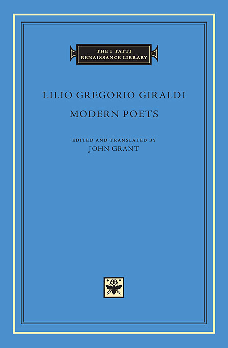 Cover: Modern Poets, from Harvard University Press