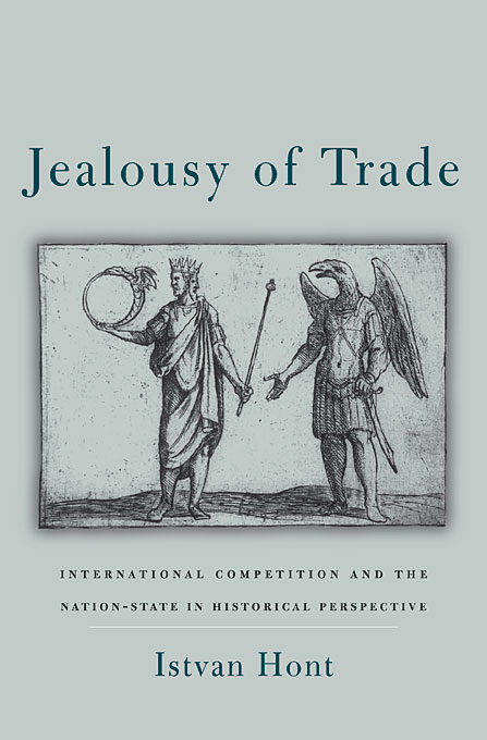 Cover: Jealousy of Trade: International Competition and the Nation-State in Historical Perspective, from Harvard University Press