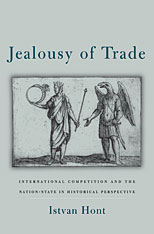 Cover: Jealousy of Trade: International Competition and the Nation-State in Historical Perspective