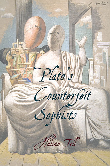 Cover: Plato's Counterfeit Sophists, from Harvard University Press