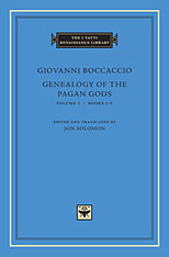 Cover: Genealogy of the Pagan Gods, Volume 1: Books I-V