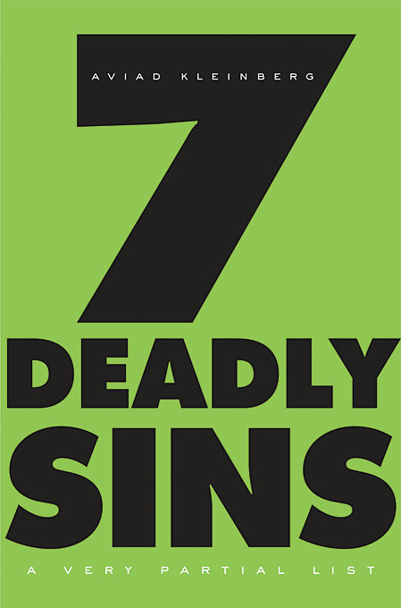 Cover: Seven Deadly Sins: A Very Partial List, from Harvard University Press