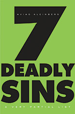 Cover: Seven Deadly Sins: A Very Partial List