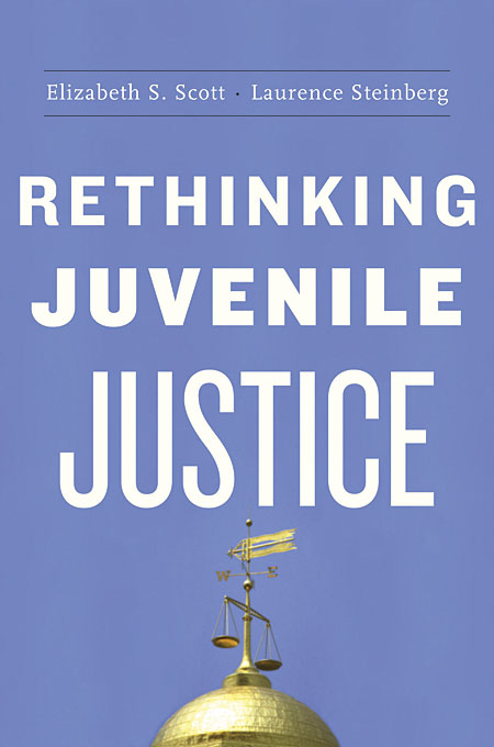 Cover: Rethinking Juvenile Justice, from Harvard University Press