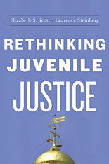 Cover: Rethinking Juvenile Justice in PAPERBACK
