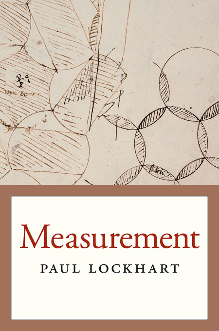 Cover: Measurement, from Harvard University Press