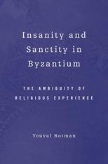 Cover: Insanity and Sanctity in Byzantium in HARDCOVER
