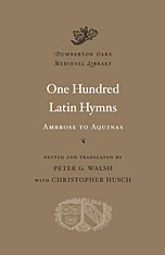 Cover: One Hundred Latin Hymns: Ambrose to Aquinas