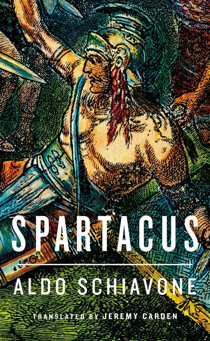 Cover: Spartacus, from Harvard University Press