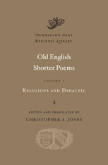 Cover: Old English Shorter Poems, Volume I: Religious and Didactic