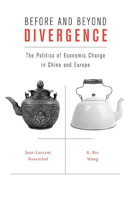 Cover: Before and Beyond Divergence: The Politics of Economic Change in China and Europe, from Harvard University Press