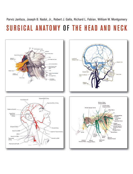 Cover: Surgical Anatomy of the Head and Neck, from Harvard University Press