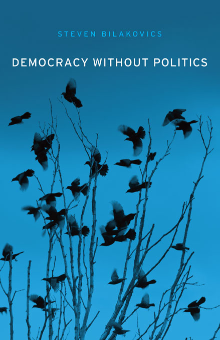 Cover: Democracy without Politics, from Harvard University Press