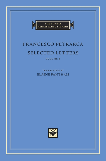 Cover: Selected Letters, Volume 1, from Harvard University Press