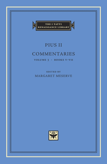 Cover: Commentaries, Volume 3: Books V–VII, from Harvard University Press