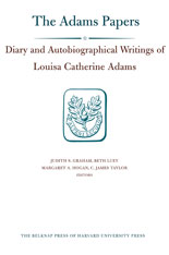 Cover: Diary and Autobiographical Writings of Louisa Catherine Adams, Volumes 1 and 2 in HARDCOVER