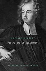 Cover: Richard Bentley: Poetry and Enlightenment